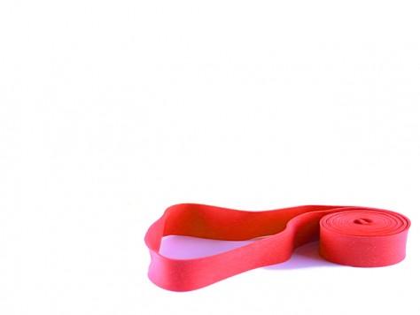 GrizzlyStretch Spanngummi ELASTIC 480 x 20 x 1,0 mm rot