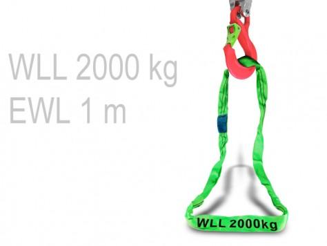 Rundschlinge - 1 m (WLL 2000 kg)
