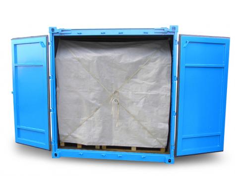 Ansicht Anwendung Containerplane