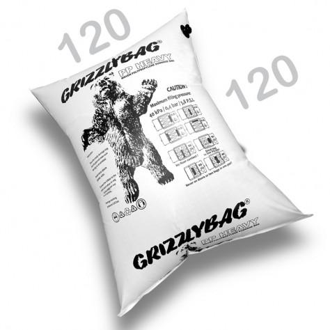 GrizzlyBag® Stausack HEAVY PP-Gewebe Schnellbefüllung - 120 x 120