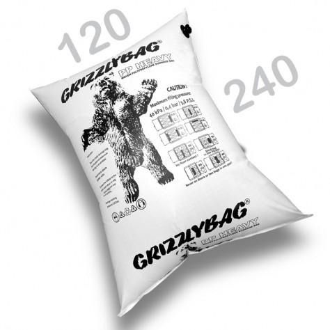 GrizzlyBag® Stausack HEAVY PP-Gewebe Schnellbefüllung - 120 x 240 cm