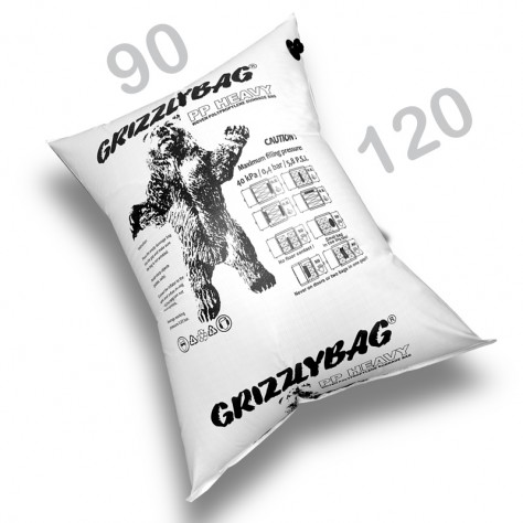 GrizzlyBag® Stausack HEAVY PP-Gewebe Schnellbefüllung - 90 x 120
