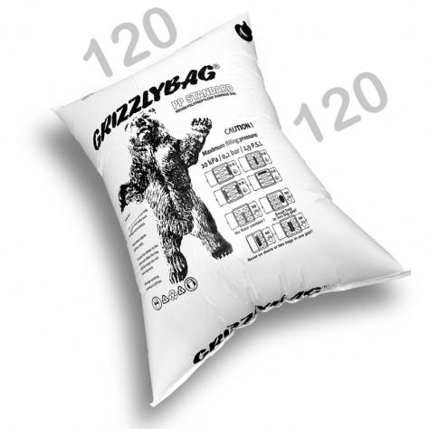 GrizzlyBag® Stausack STANDARD PP-Gewebe Schnellbefüllung - 120 x 120