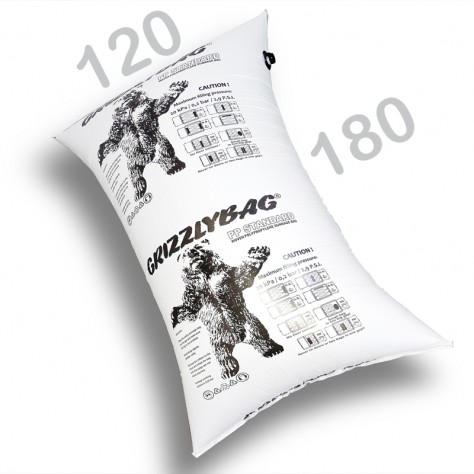 GrizzlyBag® Stausack STANDARD PP-Gewebe Schnellbefüllung - 120 x 180 Seitenbefüllung