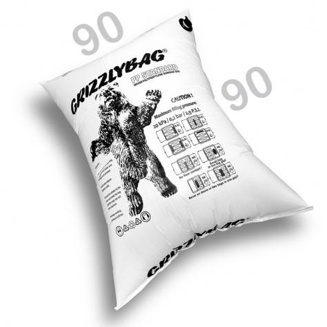 GrizzlyBag® Stausack STANDARD PP-Gewebe Schnellbefüllung - 90 x 90