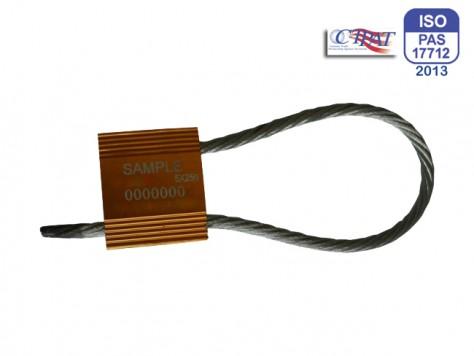 Hochsicherheits-Kabelplombe Tango 5,0 mm x 250 mm geschlossen