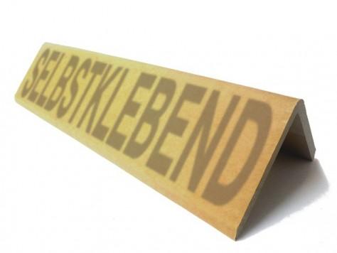 Kantenschutz-Winkel Hartpappe Stärke 9 mm selbstklebend