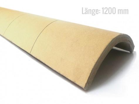 Viertelschale Hartpappe 1200 mm