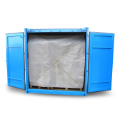 Containerplane als Rückhaltesystem (25 mm)