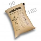 GrizzlyBag® Stausack 2-PLY Kraftpapier Schnellbefüllung - 90 x 180