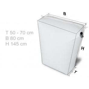 GrizzlyBag® Stausack HEAVY 3D PP-Gewebe Schnellbefüllung - 50 - 70 x 80 x 145