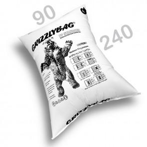 GrizzlyBag® Stausack STANDARD PP-Gewebe Schnellbefüllung - 90 x 240