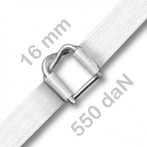 GrizzlyStrap® GW 55 KF - 16 mm - 550 daN