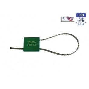 Hochsicherheits-Kabelplombe Tango 3,5 mm x 300 mm geschlossen