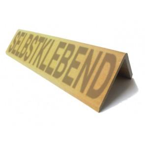 Kantenschutz-Winkel Hartpappe Stärke 8 mm selbstklebend