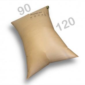 Silkonventil Stausack Kraftpapier 2-PLY - 90 x 120