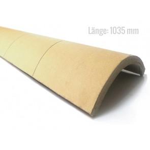 Viertelschale Hartpappe 800 mm