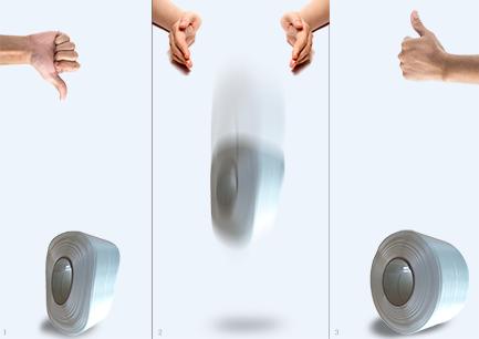 Tipp gegen deformiertes Umreifungsband Komposit
